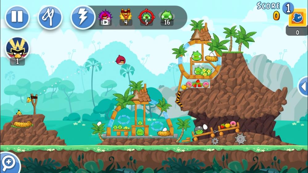 Angry Birds game (by Rovio)
