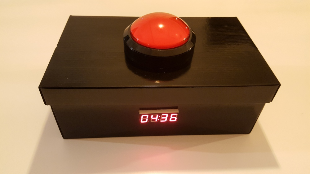 Timer button - outside
