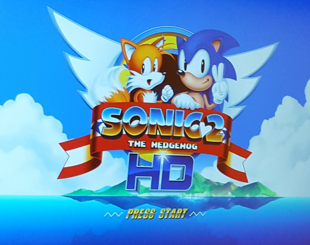 Sonic 2 HD remake