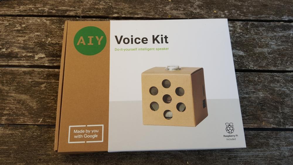 Google AIY Voice Kit Box