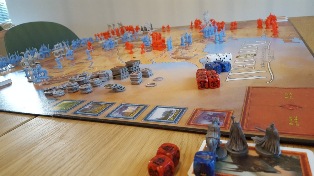 War of the Ring board overview
