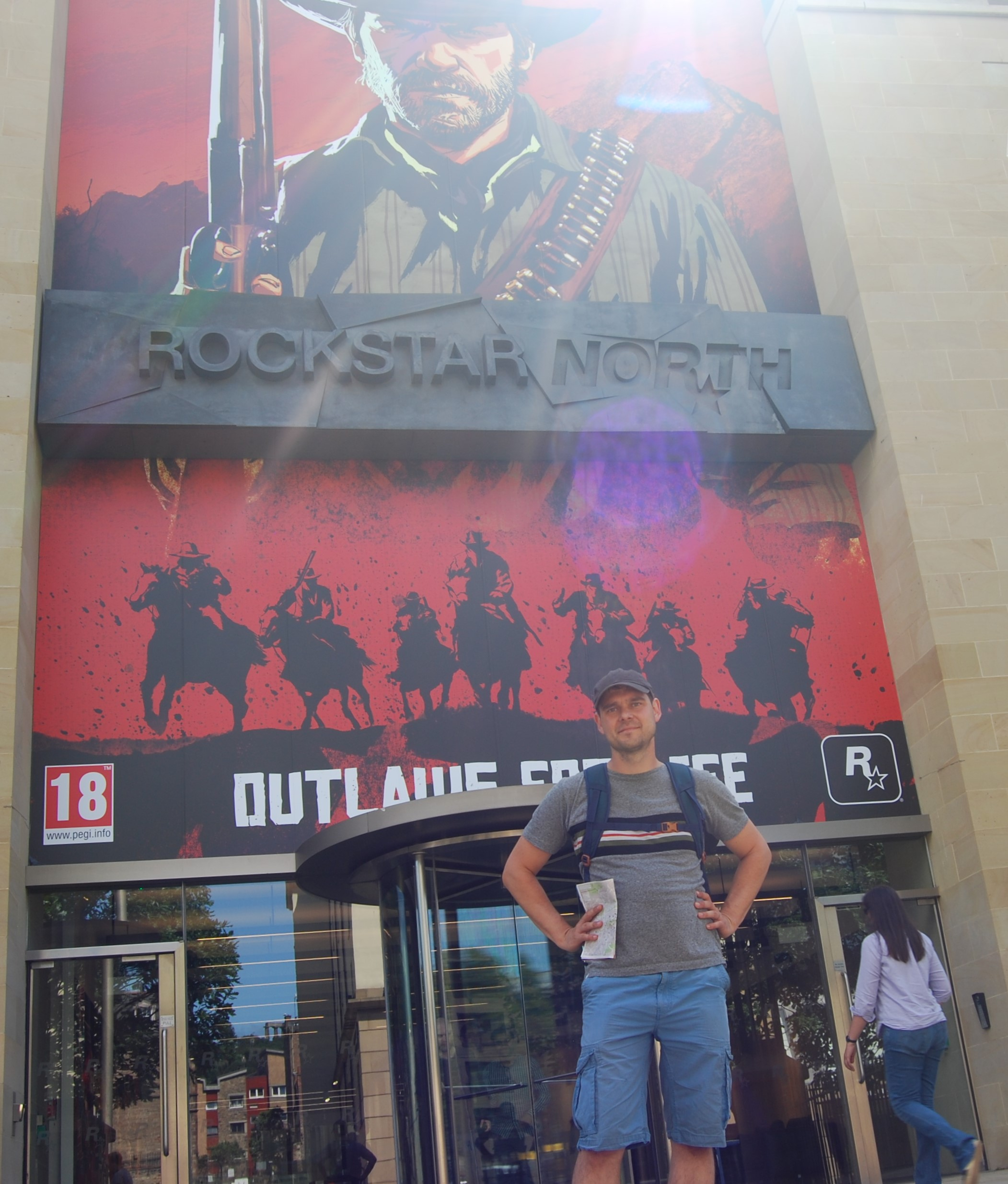 Rockstar North office