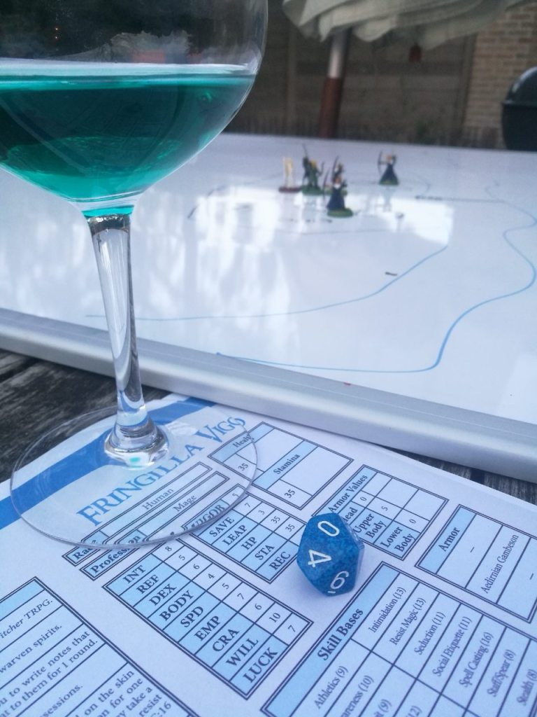 Witcher Tabletop RPG Board