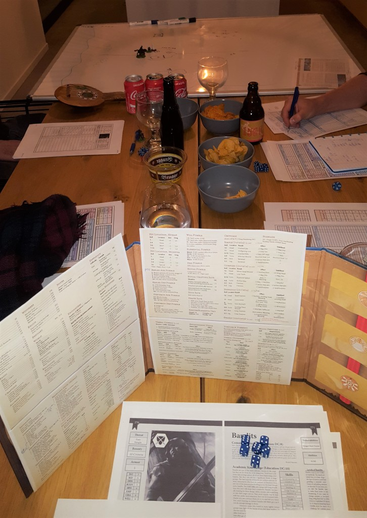 Witcher TRPG: our second game